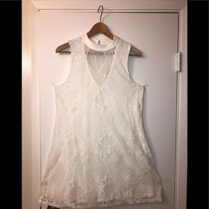Brand new Francesca white lace dress size medium